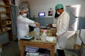 Labo-distillation